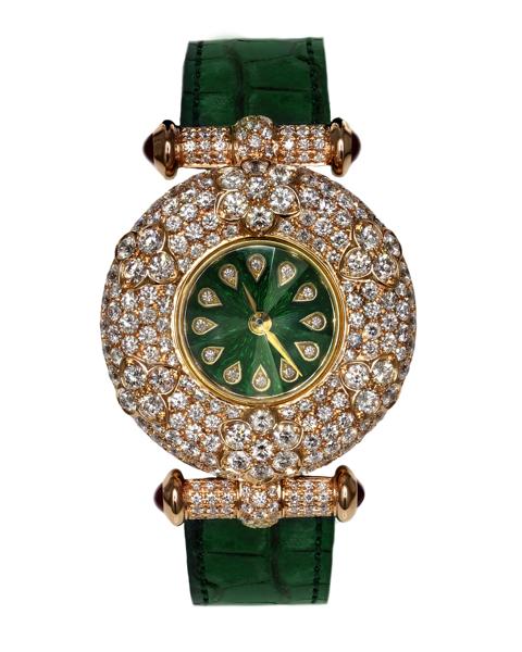 ساعت برلیان سبز