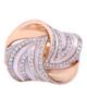عکس انگشتر صدف و الماس